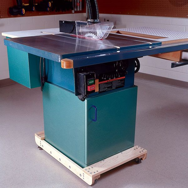 Woodworking Project Paper Plan to Build 3-in-1 Tablesaw Upgrade and Saw-Top Dust Collector