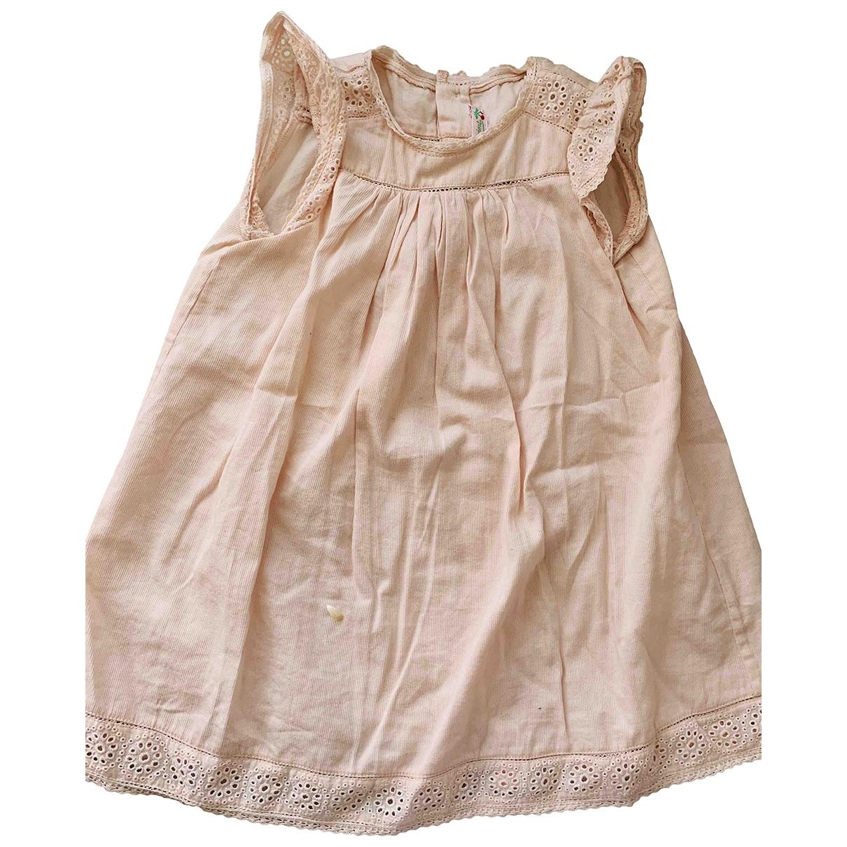Bonpoint \N Kleid in  Rosa Baumwolle