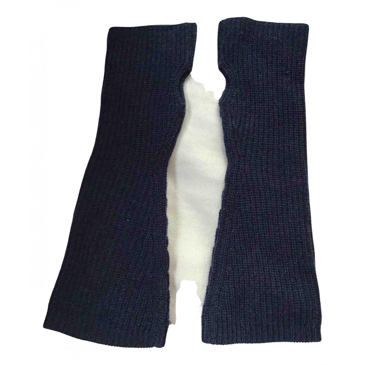 Madeleine Thompson \N Handschuhe in  Blau Wolle