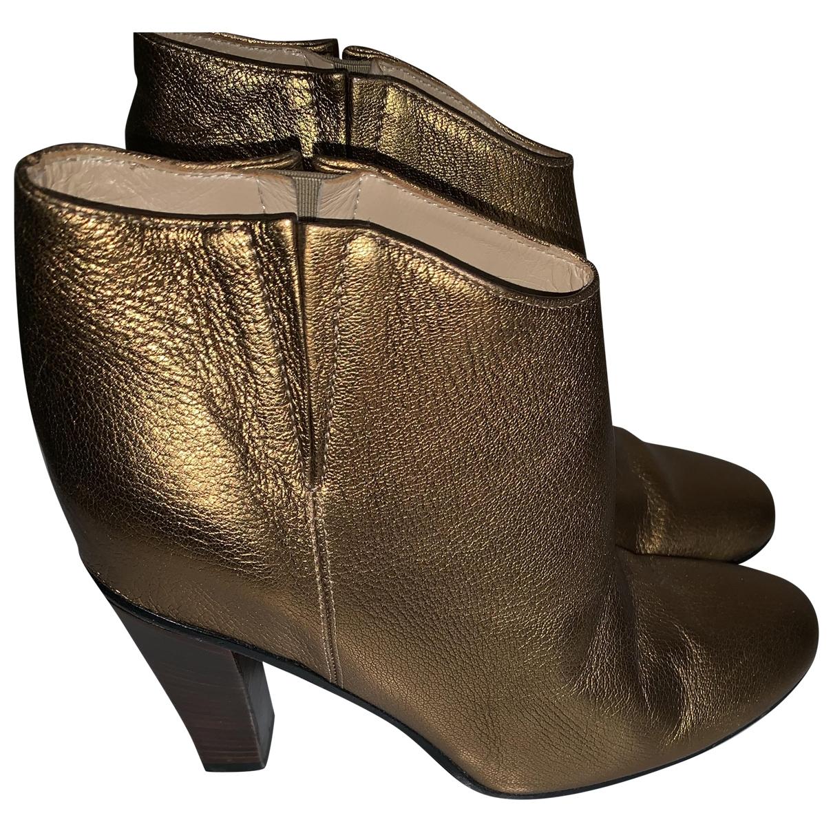 Golden Goose \N Leather Heels for Women 39 EU