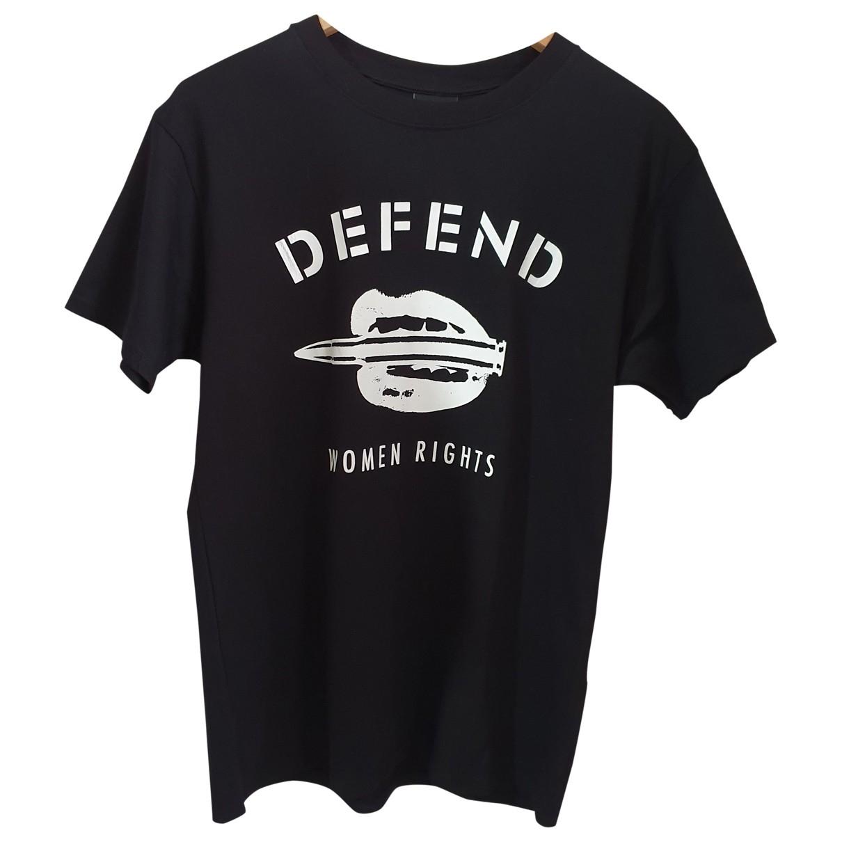 Defend Paris - Tee shirts   pour homme en coton - noir