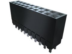 Samtec , ESW 2.54mm Pitch 10 Way 2 Row Vertical PCB Socket, Through Hole, Solder Termination (43)