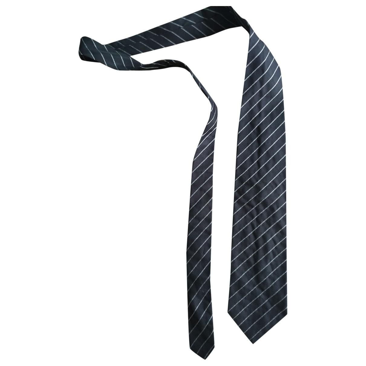 Moschino \N Krawatten in  Schwarz Seide