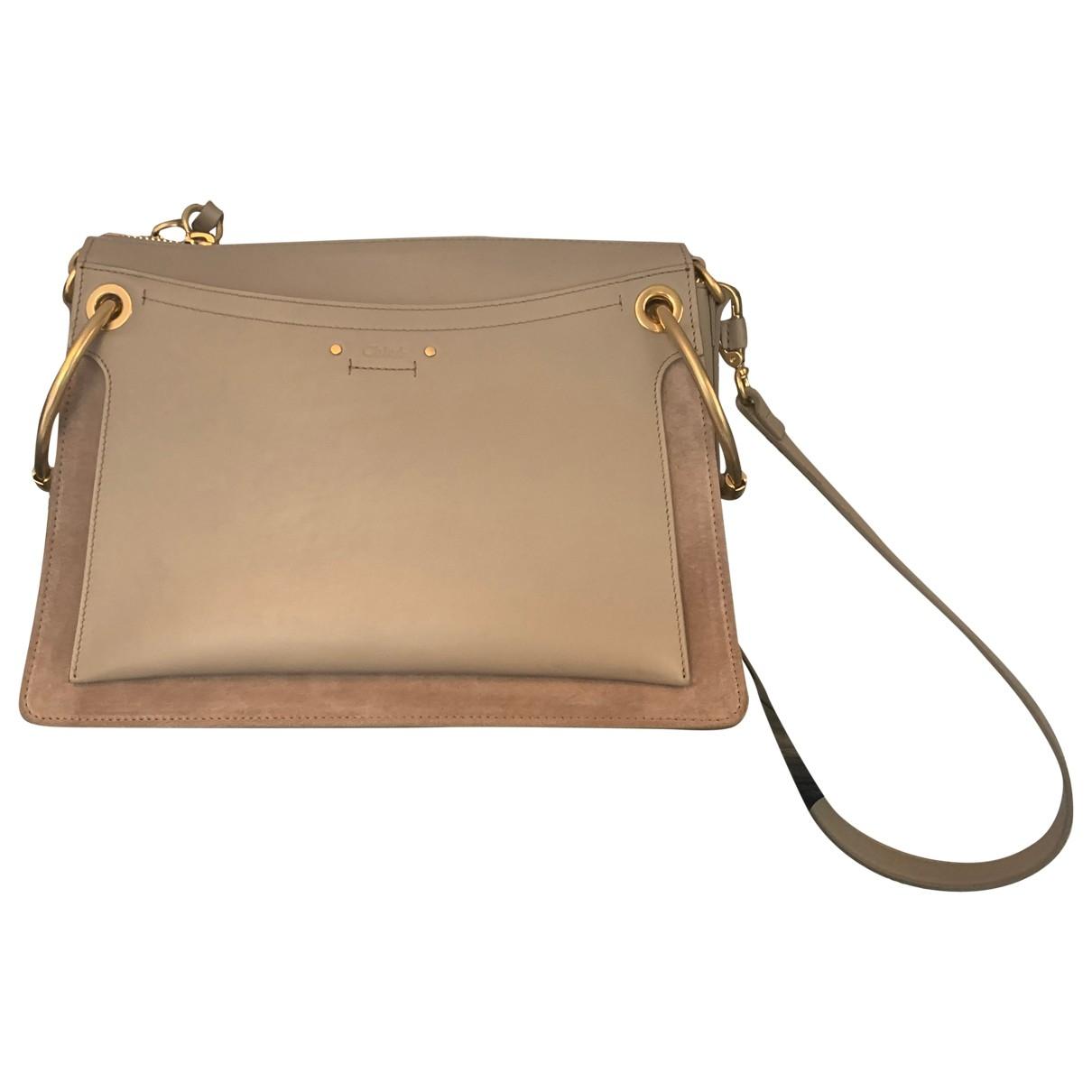 Chloé Roy Beige Leather handbag for Women \N