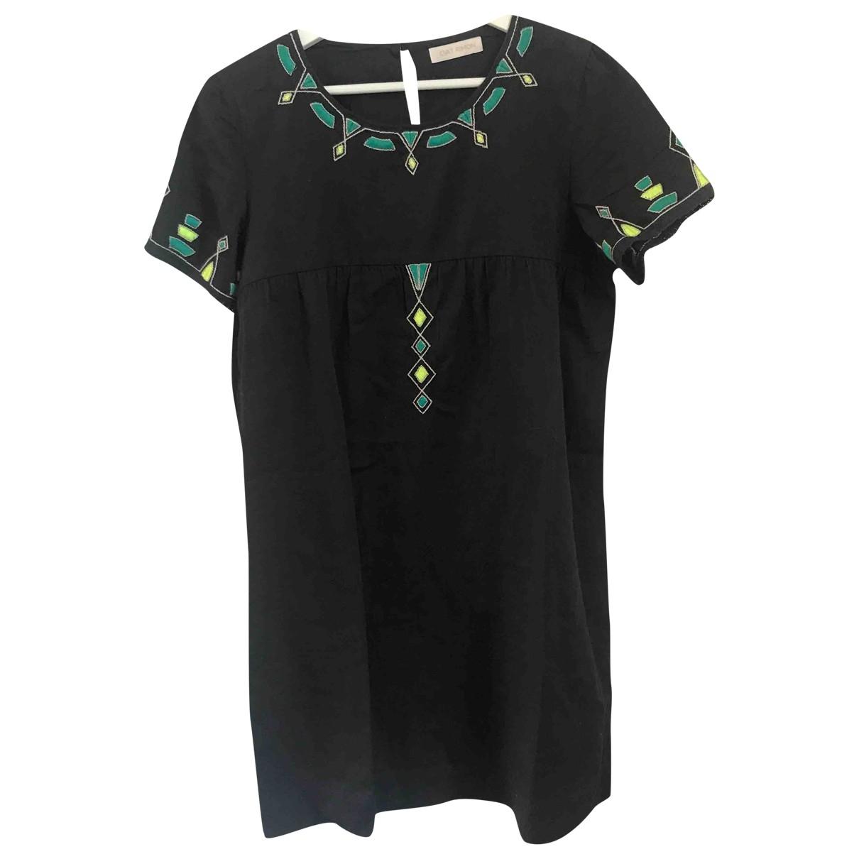 Gat Rimon - Robe   pour femme en coton - noir