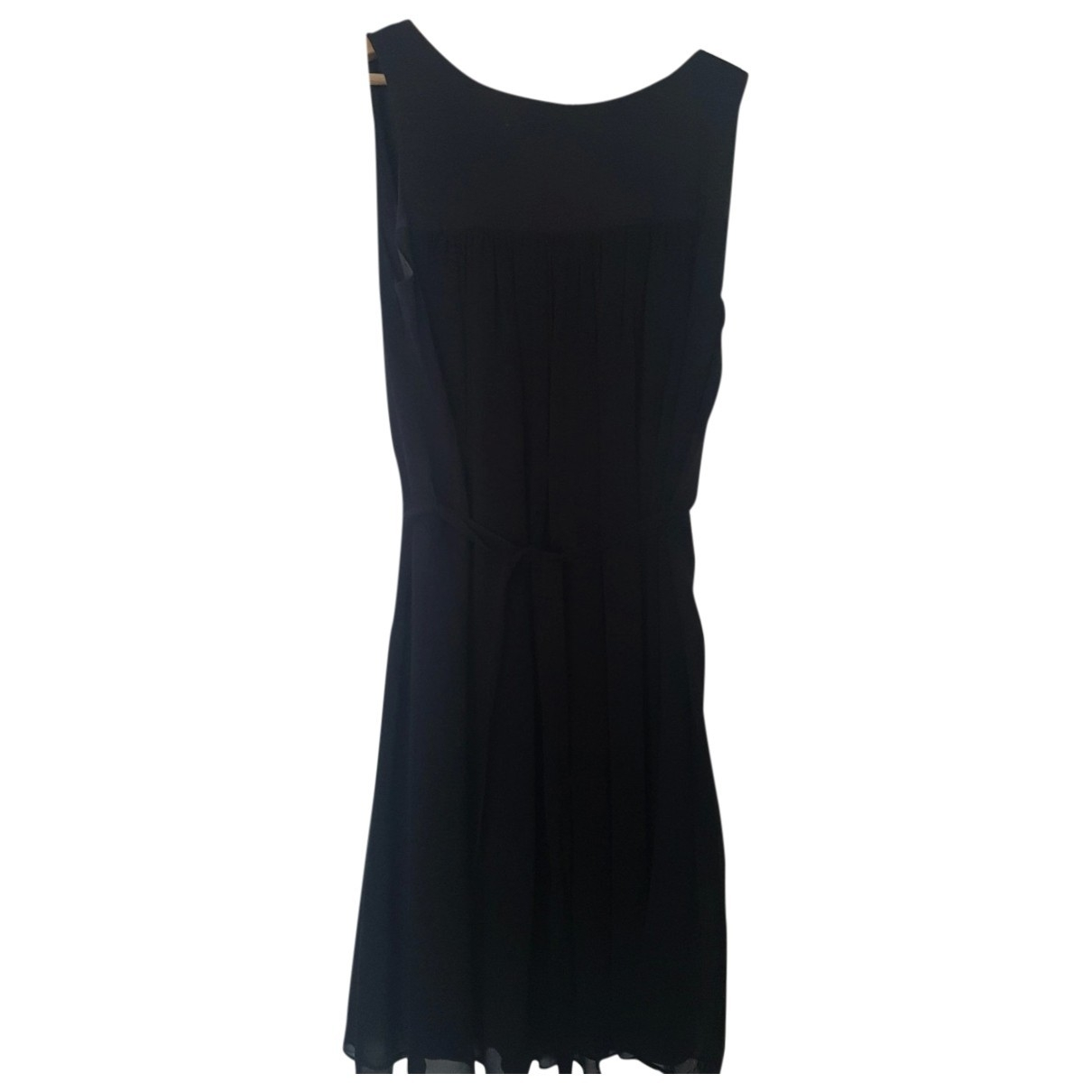 Karl Lagerfeld - Robe   pour femme en coton - elasthane - noir