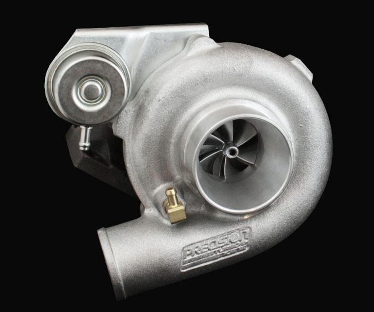 Precision Turbo & Engine 10301301279 GEN1 PT5130 WCBB B CC w/ T3 Stainless V-Band IN/OUT .64 A/R