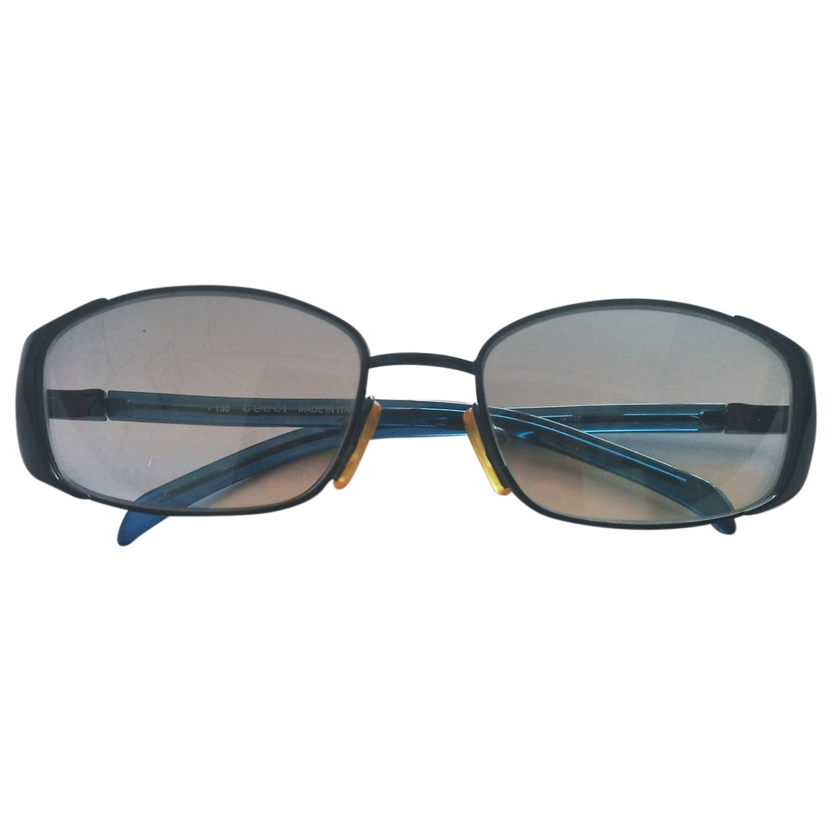 Gucci \N Sonnenbrillen in  Blau Kunststoff