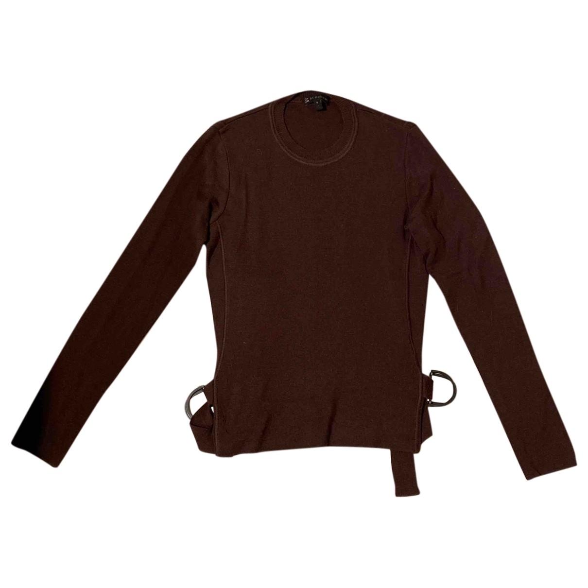 Burberry \N Brown Wool Knitwear for Women S International