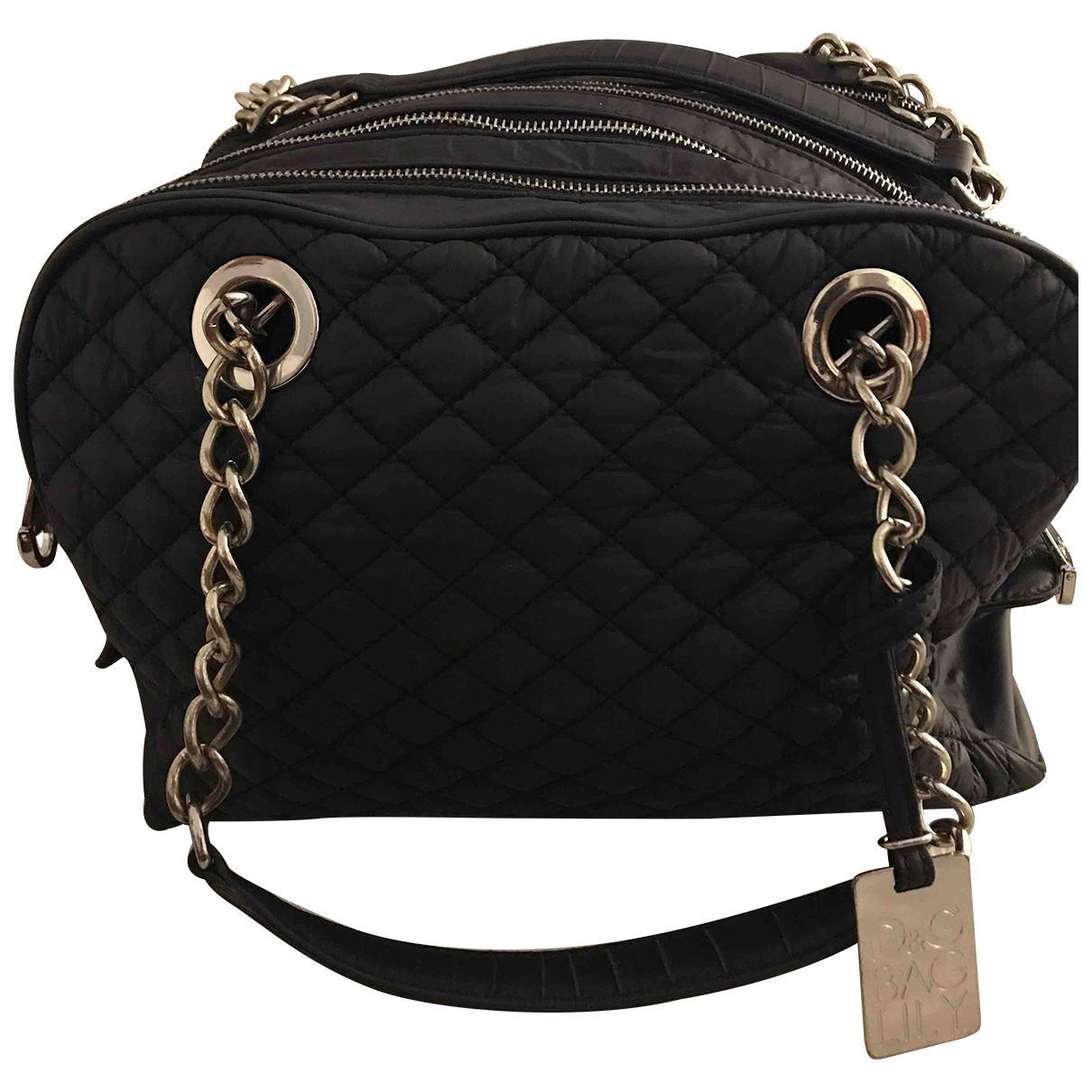 Dolce & Gabbana \N Handtasche in  Schwarz Leinen