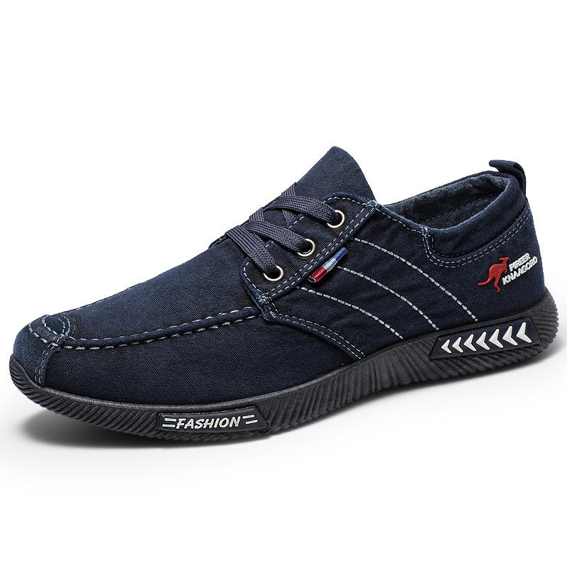 Canvas Slip Resistant Casual Comfy Loafers