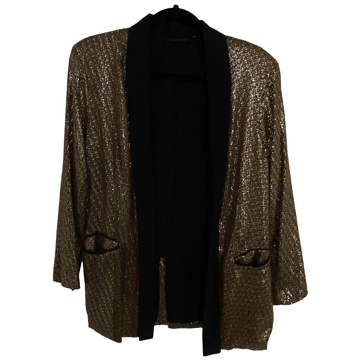 Silvian Heach \N Jacke in  Gold Polyester