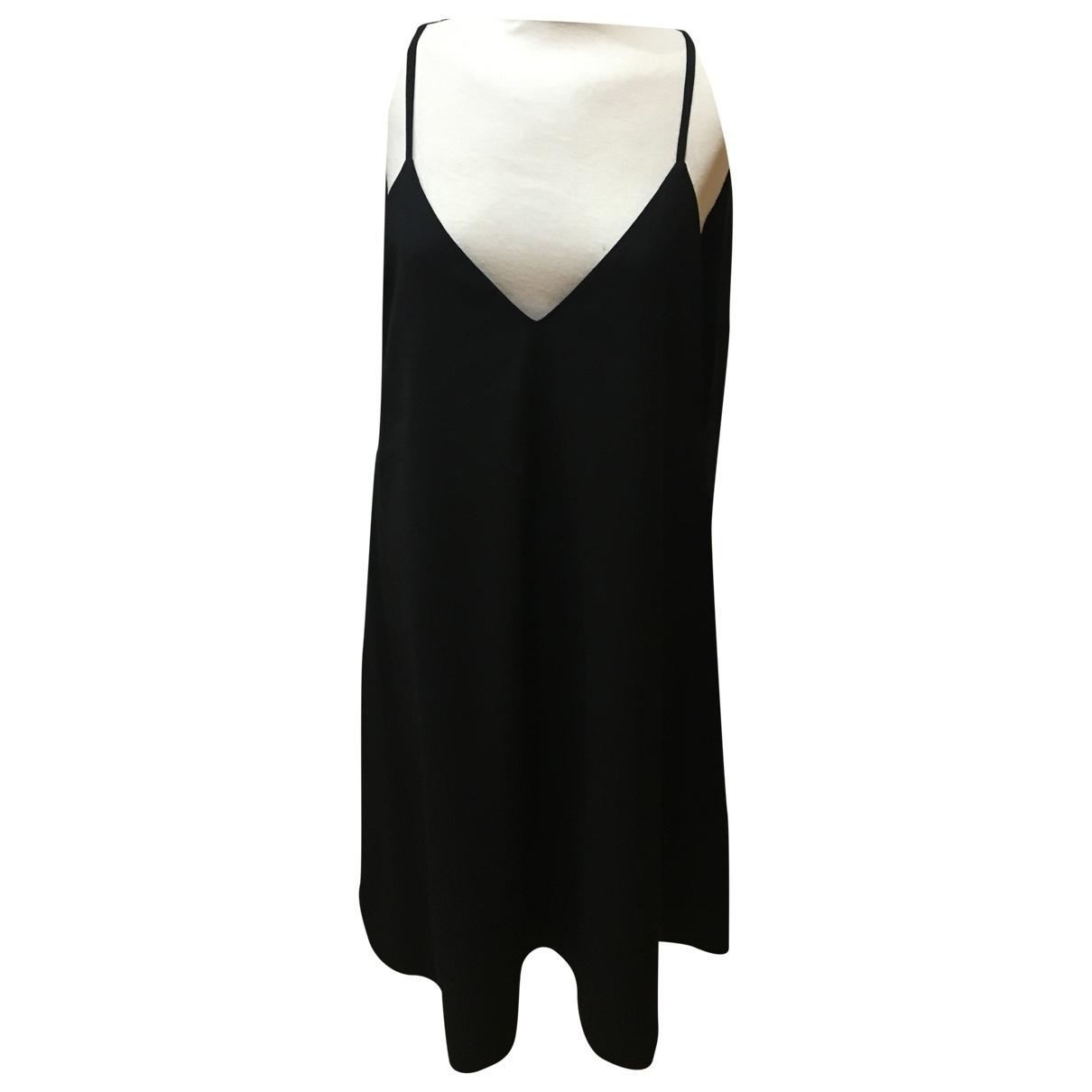 Loewe \N Kleid in  Schwarz Wolle