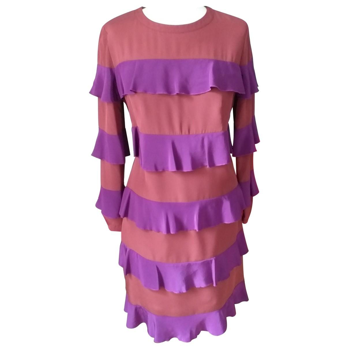 See By Chloé \N Purple Silk dress for Women 38 FR