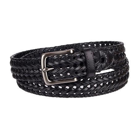 Dockers Braided Casual Belt, M (34-36) , Black