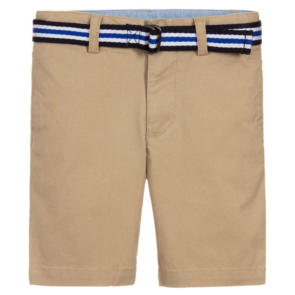 Ralph Lauren Kids Chino Shorts Colour: GREY, Size: 6 YEARS
