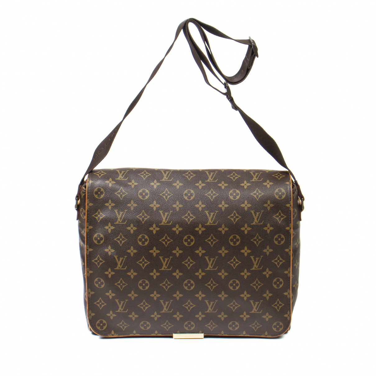 Louis Vuitton \N Handtasche in  Braun Leder