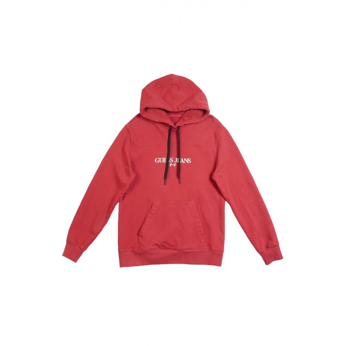 Guess \N Pullover.Westen.Sweatshirts  in  Rot Baumwolle