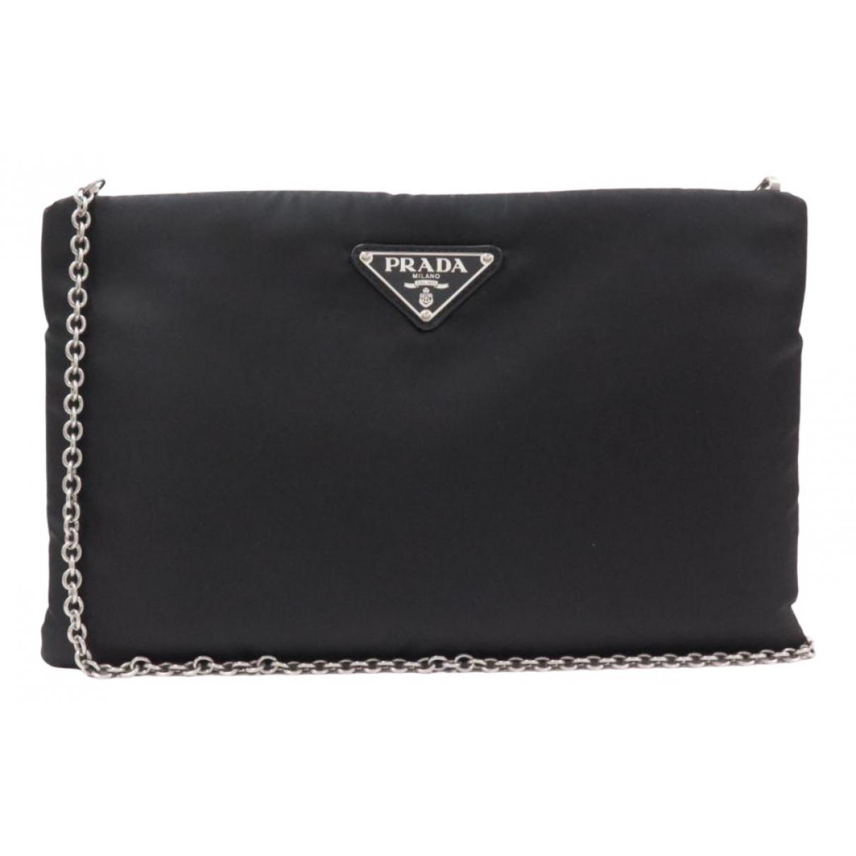 Prada \N Handtasche in  Schwarz Polyester