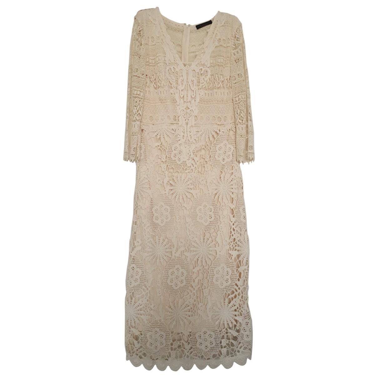 Twin Set \N Beige Cotton dress for Women L International