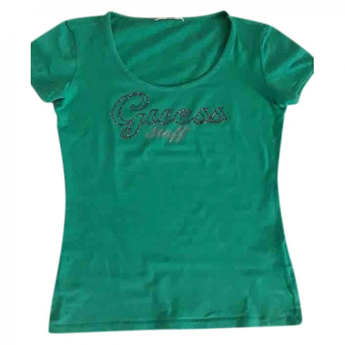 Guess - Top   pour femme - vert