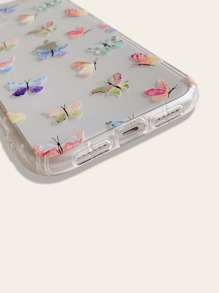 1pc Butterfly Print iPhone Case