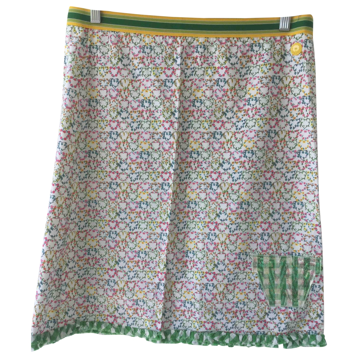 Non Signé / Unsigned \N Cotton skirt for Women M International