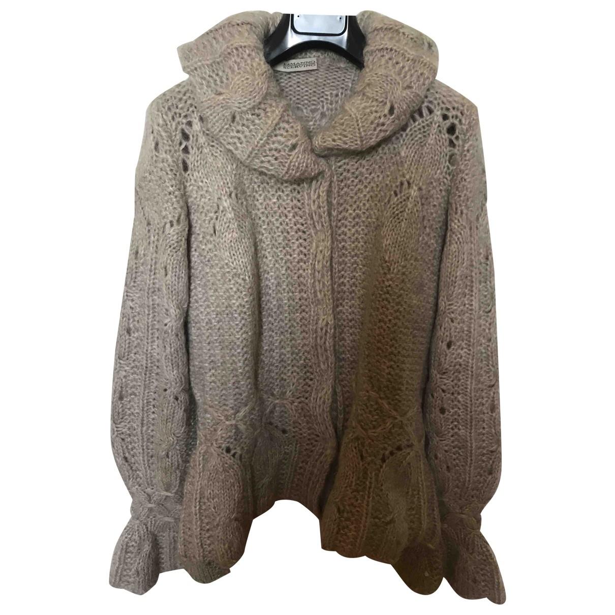 Ermanno Scervino - Pull   pour femme en laine - ecru