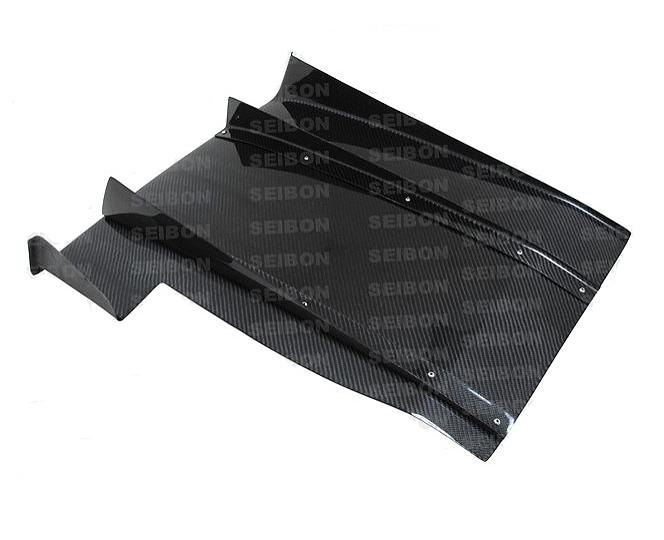 Seibon RD0607SBIMP Carbon Fiber Rear Diffuser Subaru WRX STI 06-07