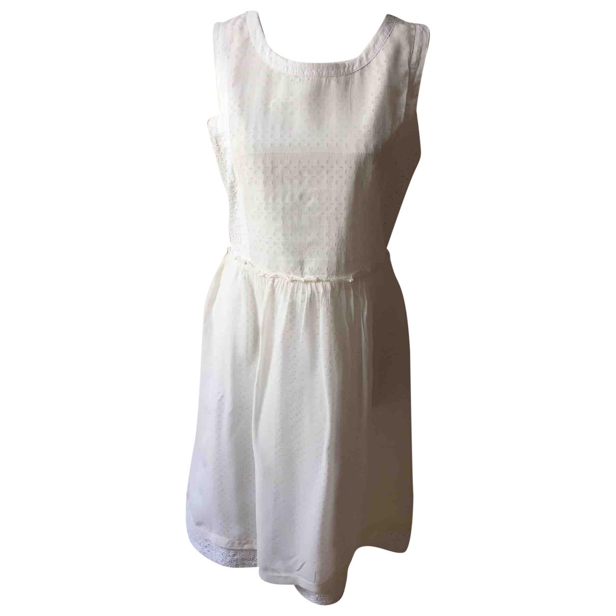 Sport Max - Robe   pour femme en coton - blanc