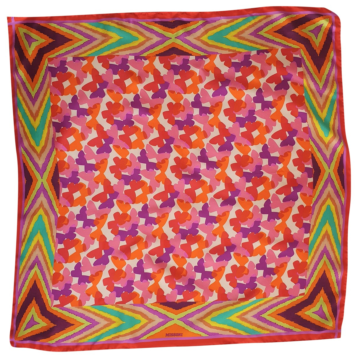 Missoni N Multicolour Silk scarf for Women N