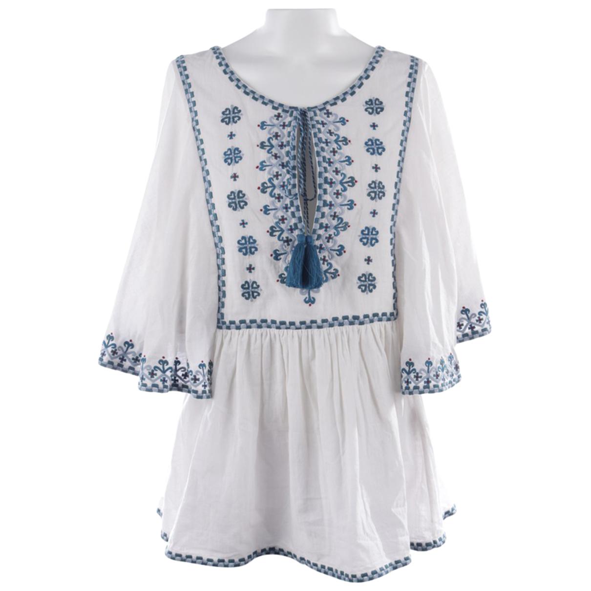 Talitha \N White Cotton  top for Women L International