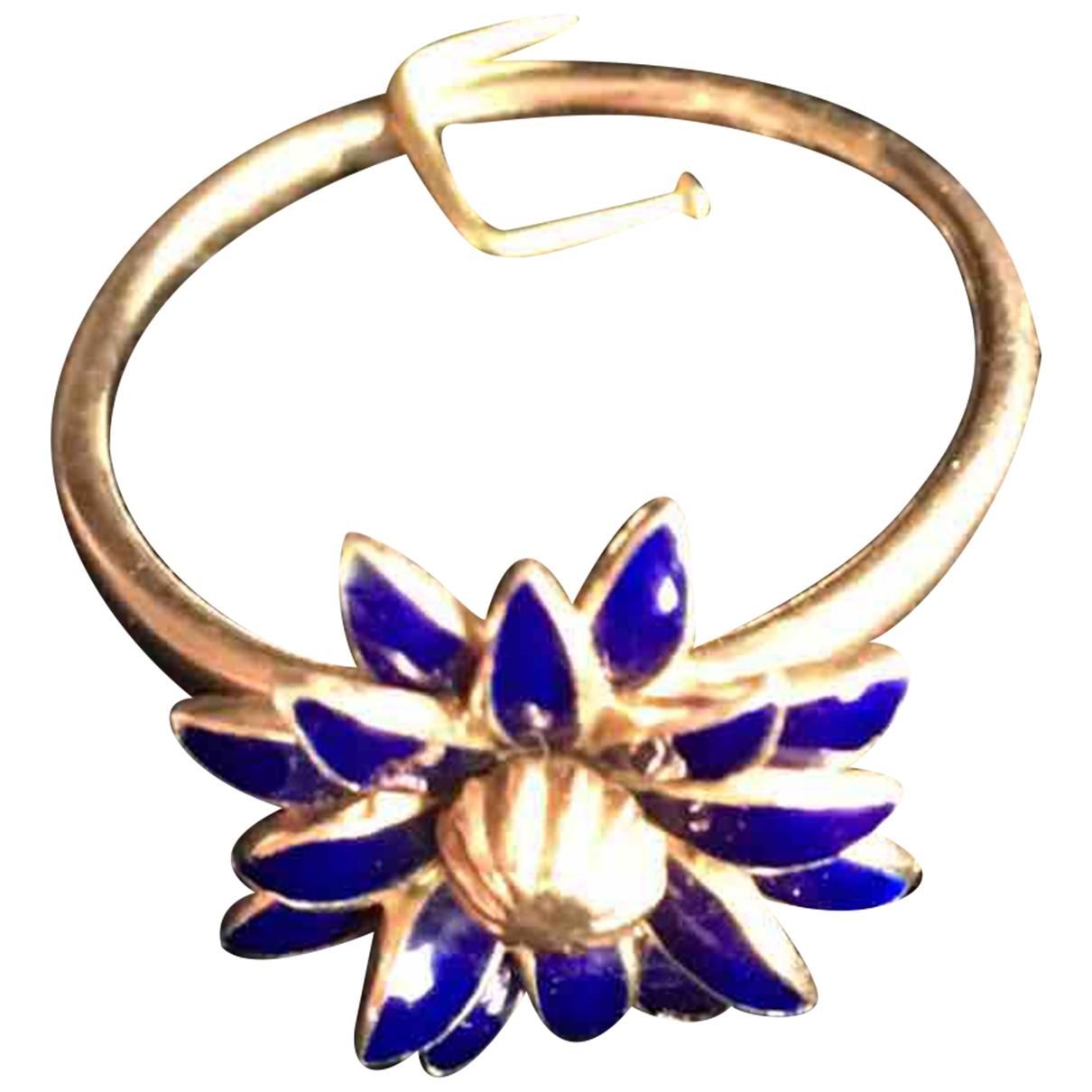 - Bague Motifs Floraux pour femme en or rose - dore