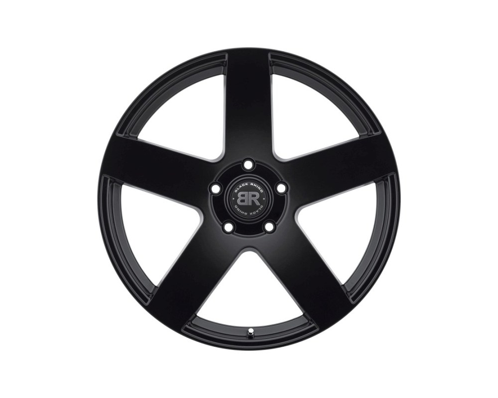 Black Rhino Everest Matte Black Wheel 22x9.5 5x139.70 5x5.5 20mm CB78