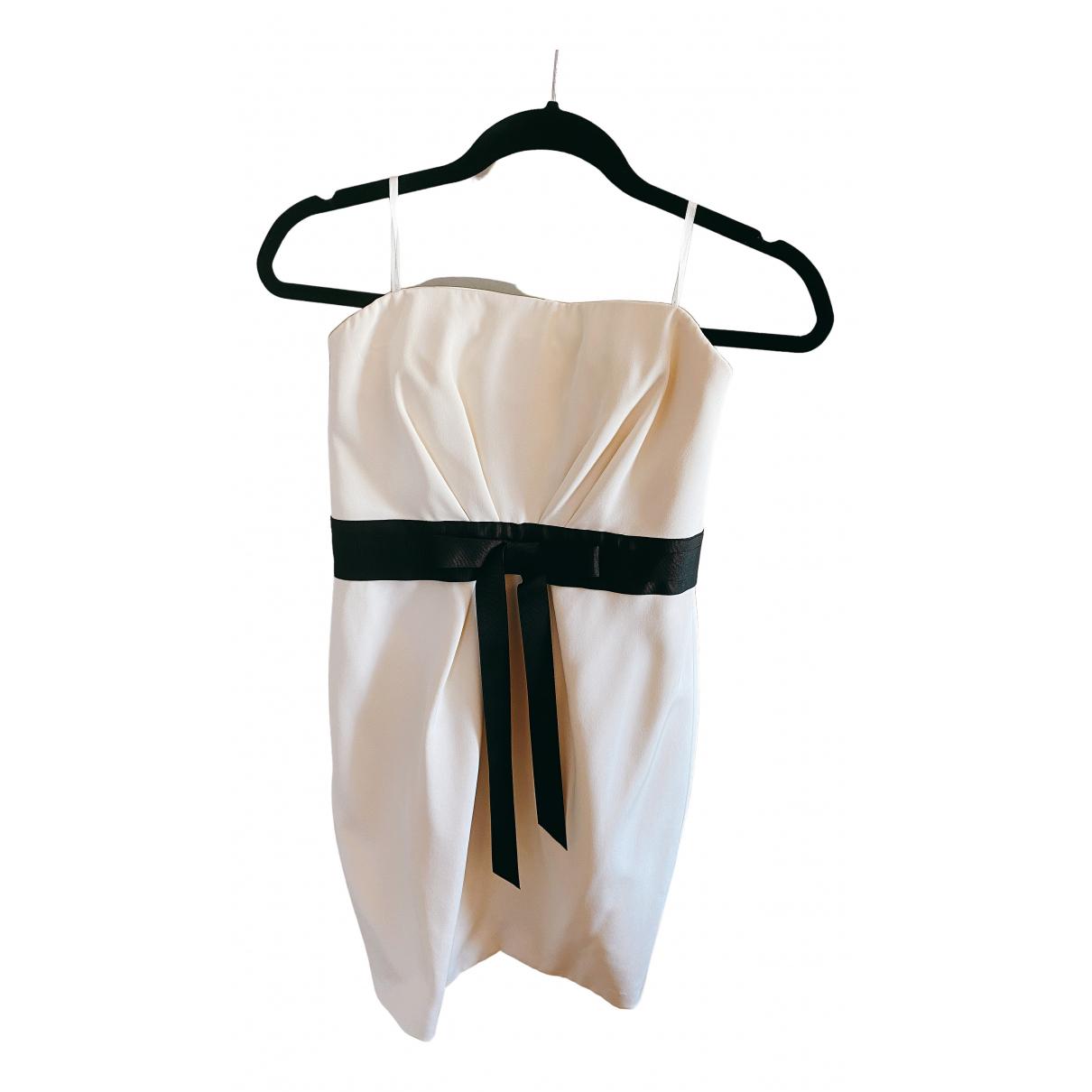 Marchesa Notte N Beige dress for Women 4 US