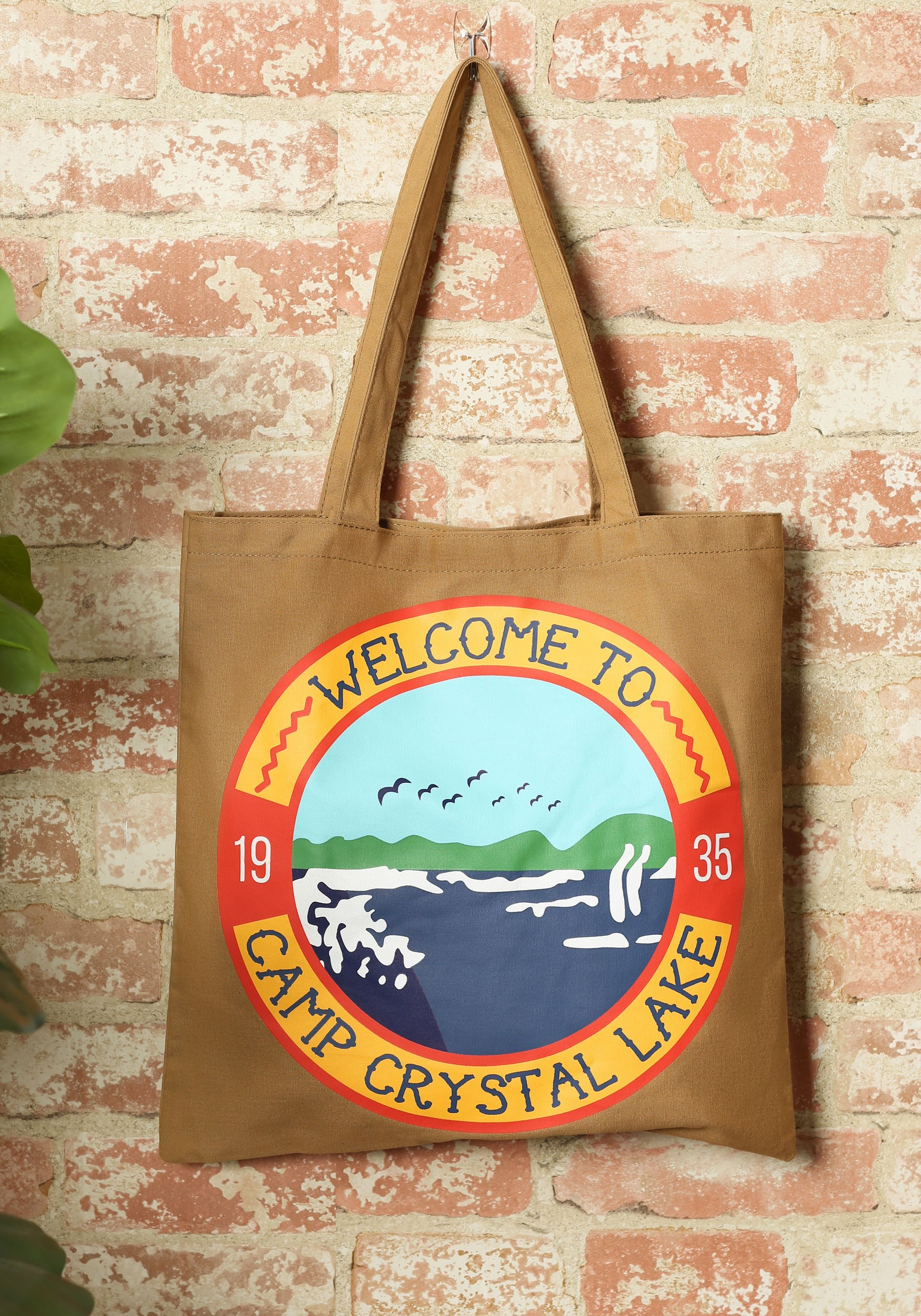 Friday the 13th Camp Crystal Lake Canvas Tote Treat Bag