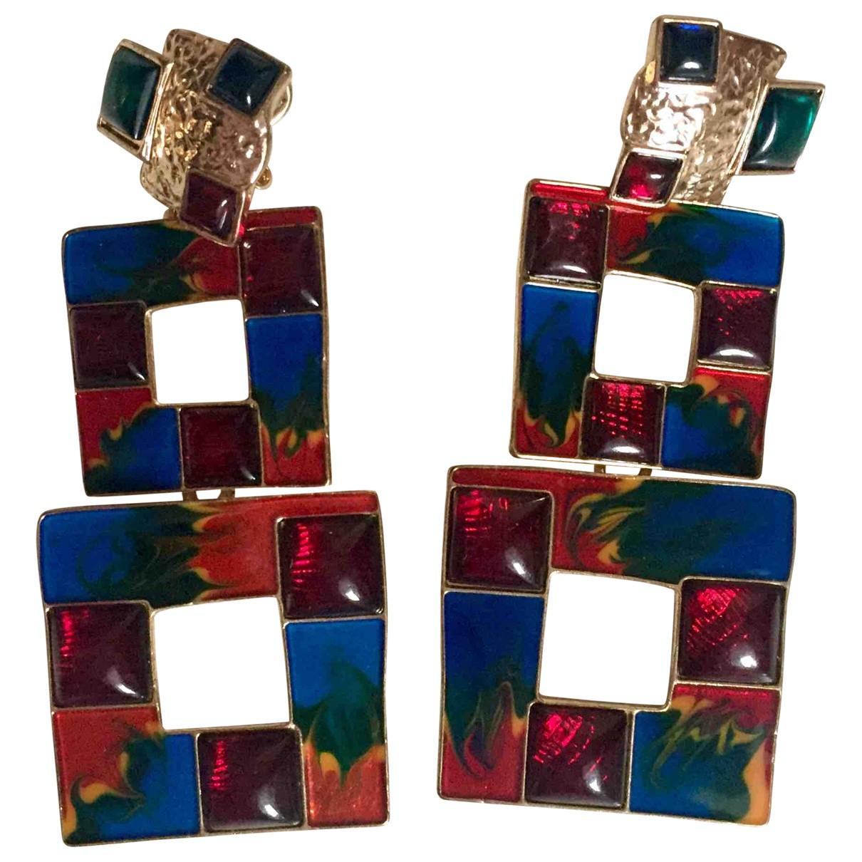 Zara - Boucles doreilles   pour femme en metal - multicolore