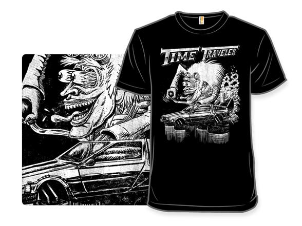 Time Traveler T Shirt