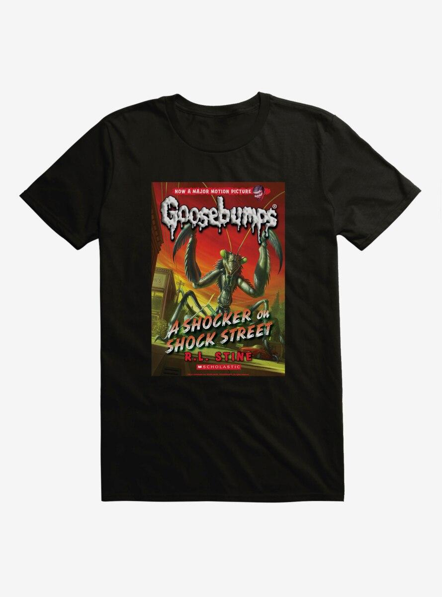 Goosebumps A Shocker On Shock Street Book T-Shirt