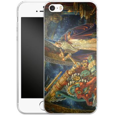 Apple iPhone 5 Silikon Handyhuelle - Myles Pinkeney - The Astronomer von TATE and CO