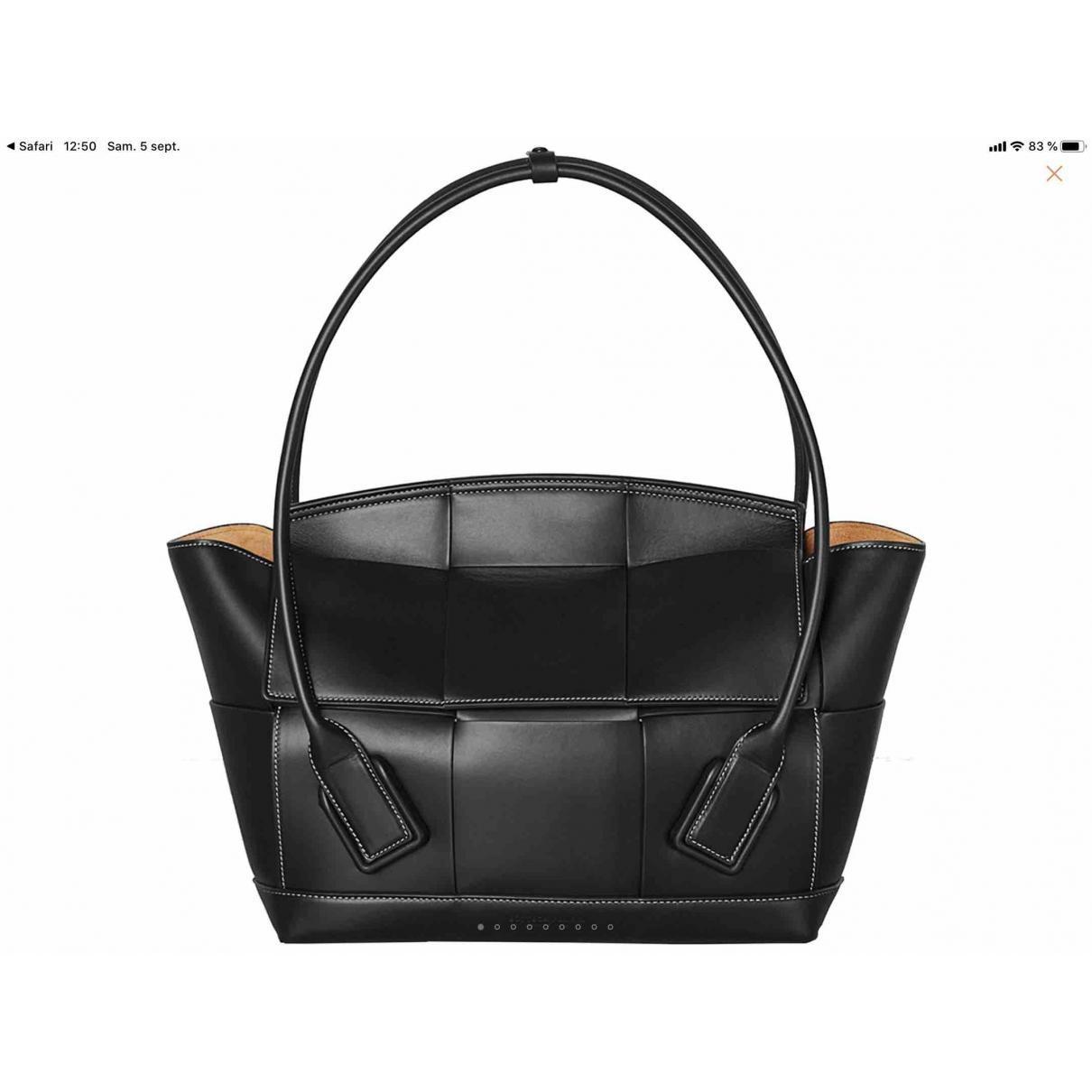 Bottega Veneta Arco Black Leather handbag for Women \N