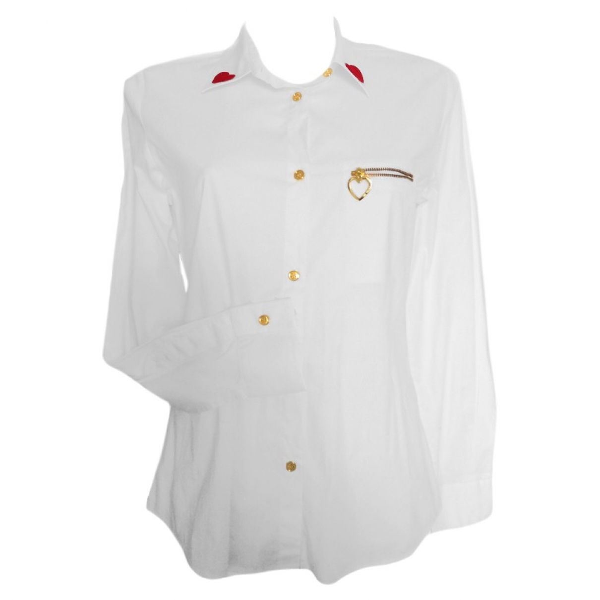 Moschino Love \N White Cotton  top for Women 42 IT