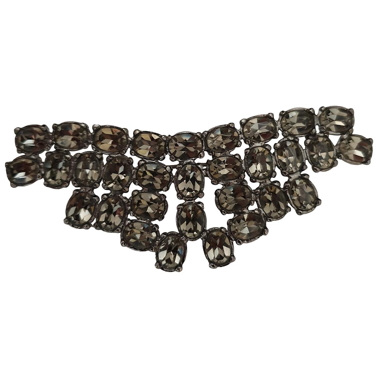 Sonia Rykiel \N Grey Crystal Pins & brooches for Women \N