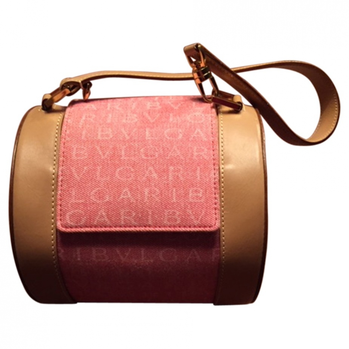 Bvlgari \N Pink Cloth handbag for Women \N