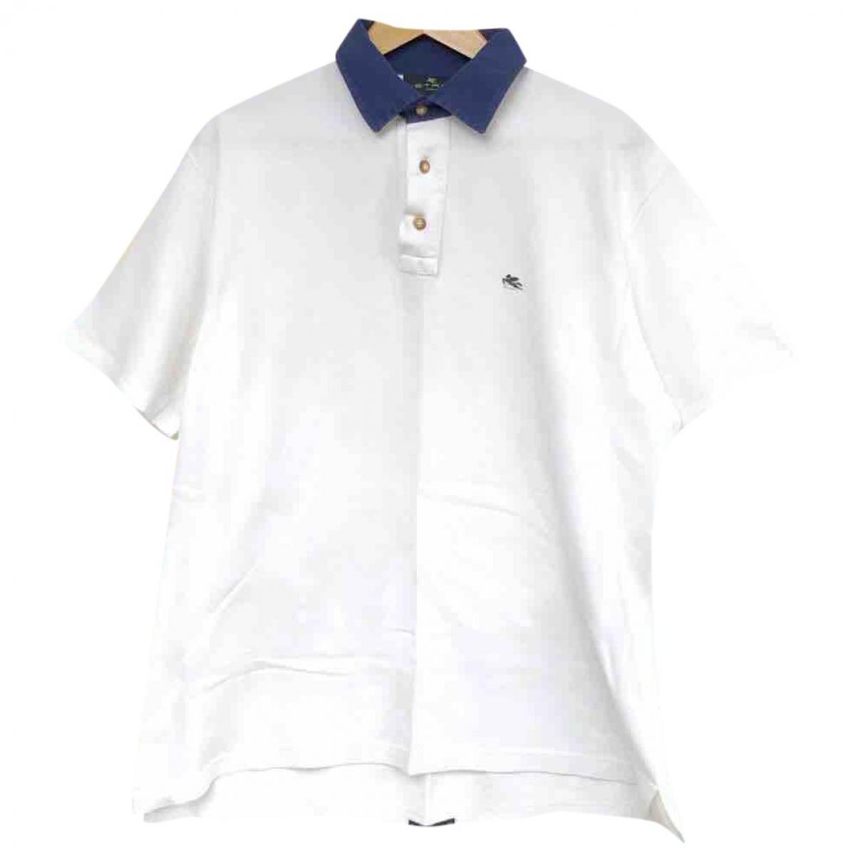 Etro \N Poloshirts in  Weiss Baumwolle