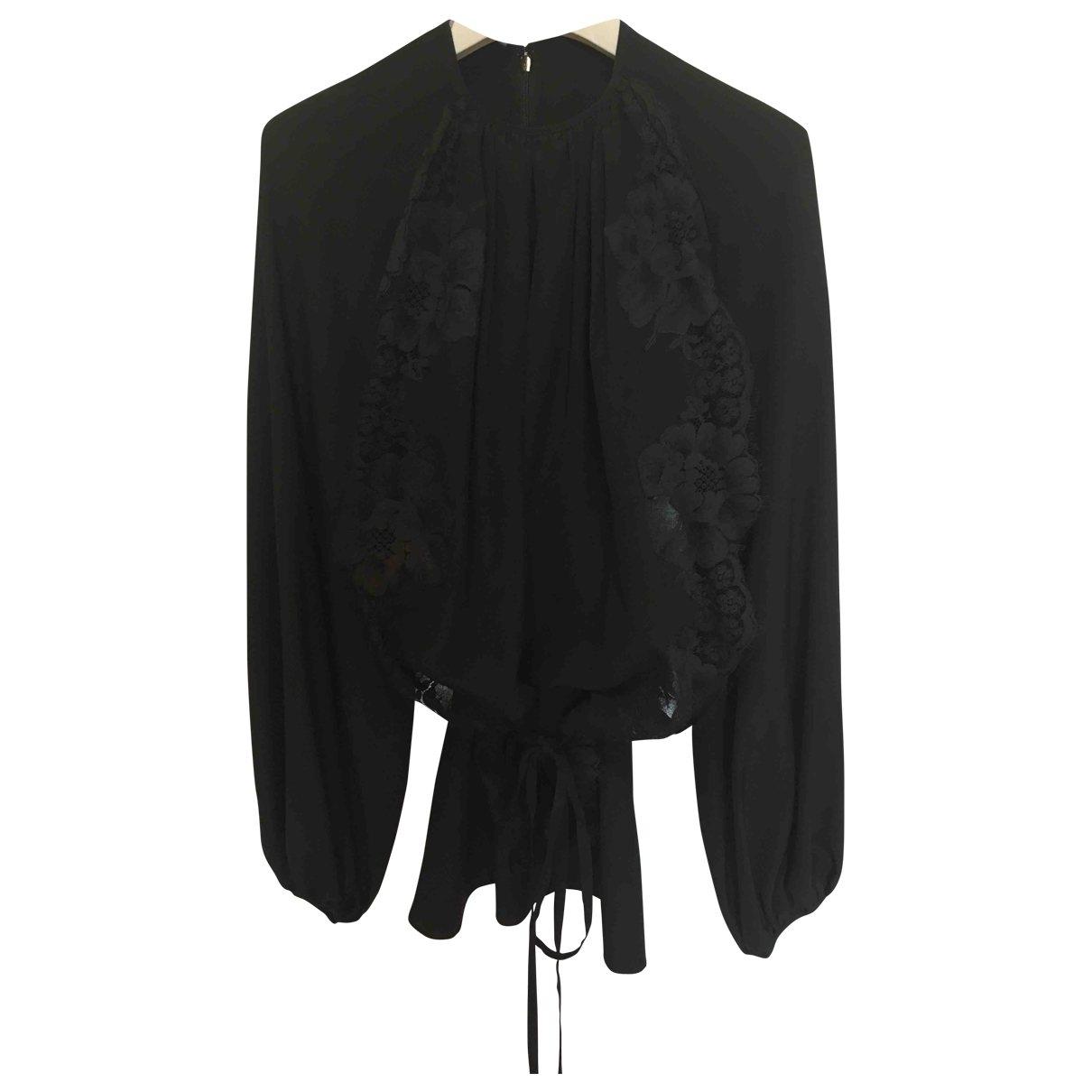 Stella Mccartney - Top   pour femme en soie - noir