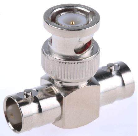 Telegartner Tee 50Ω RF Adapter BNC Socket Plug 4GHz