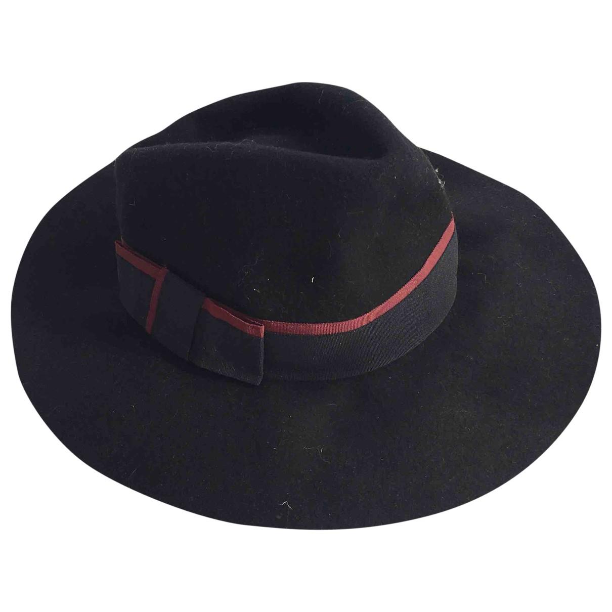 Mango \N Black Wool hat for Women M International