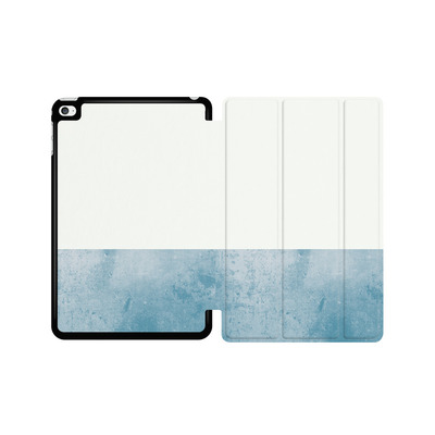 Apple iPad mini 4 Tablet Smart Case - Colour Block Blue von caseable Designs