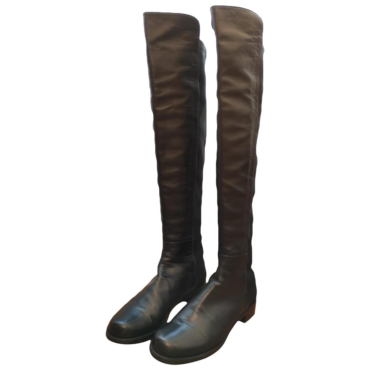 Botas altas de Cuero Stuart Weitzman